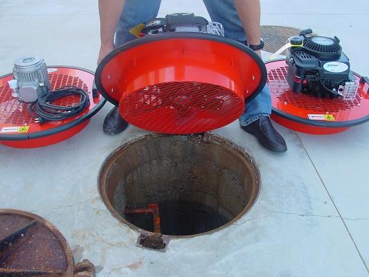 Foto de Sistemas de ventilación para pozos
