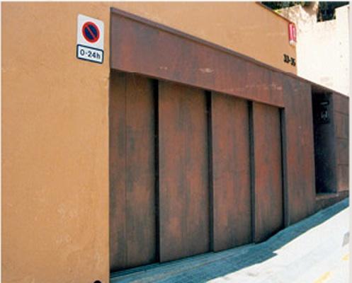 Foto de Puerta corredera rígida