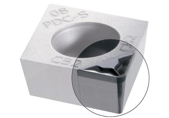 Foto de Plaquitas de torneado para aluminio