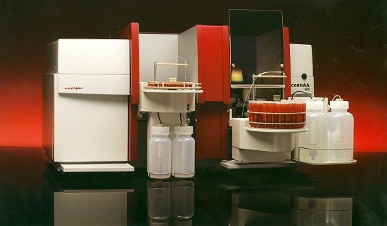 Foto de Sistema de absorción atómica