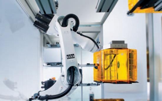 Foto de Robots para salas blancas