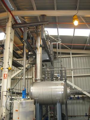 Foto de Instalación de abatimiento de metanol