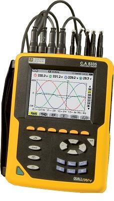 Foto de Analizador de potencia y calidad de energía