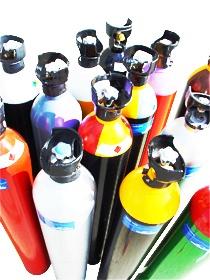 Foto de Gases en botellas