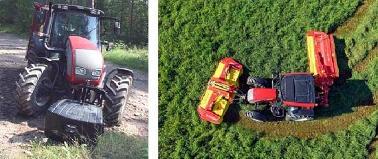 Foto de Enganche frontal para tractor