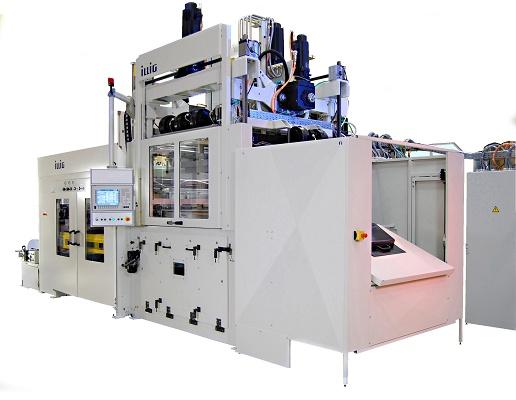 Foto de Máquinas de moldeo de planchas de procesos regulados