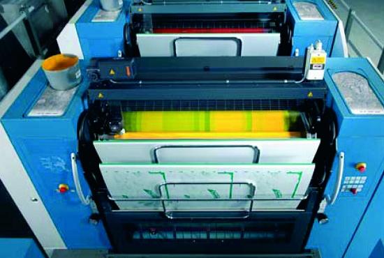 Foto de Impresora offset de pliegos