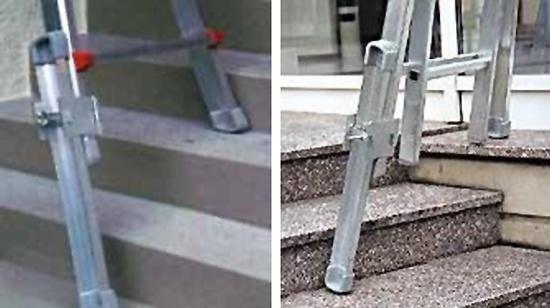 Foto de Prolongación de pie para escalera