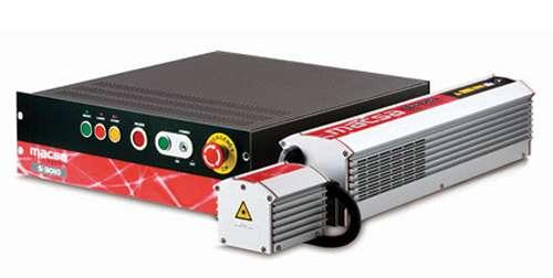 Foto de Sistema de marcaje láser