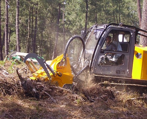 Foto de Tractor autopropulsado hidrostático