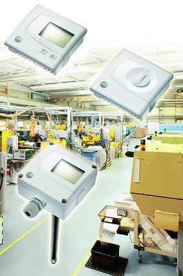 Foto de Transmisores de temperatura, humedad y presión diferencial