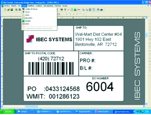 Foto de Software de diseño de etiquetas