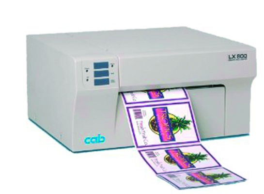 Foto de Impresora de etiquetas a color