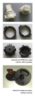 Foto de Inyección y montaje de tapones de gasolina