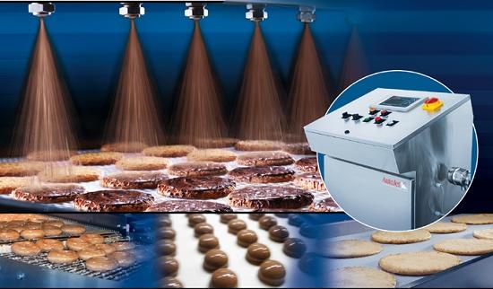 Foto de Sistema de pulverización de chocolate