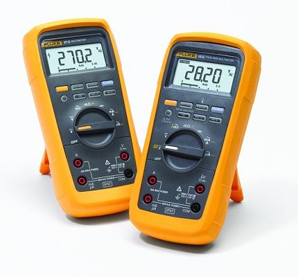 Multímetros digitales Fluke 27 II - Medición y control - Multímetros  digitales
