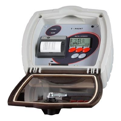 Foto de Registrador de datos de temperatura con impresora