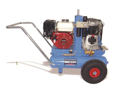 Foto de Motocompresores de aire de ruedas traccionados