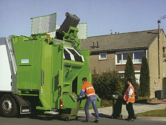 Foto de Recolectores de carga trasera con dos compartimentos