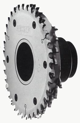 Foto de Triturador PCD con sierra circular