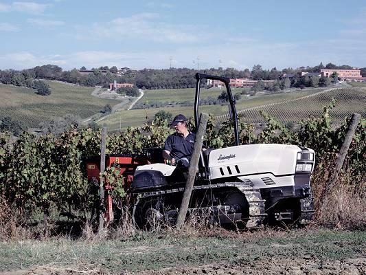 tractores de cadenas lamborghini cv