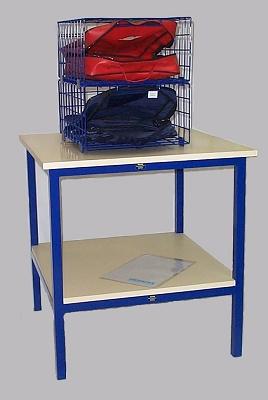 Foto de Mobiliario para distribución de valijas