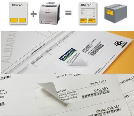 Foto de Etiquetas integradas
