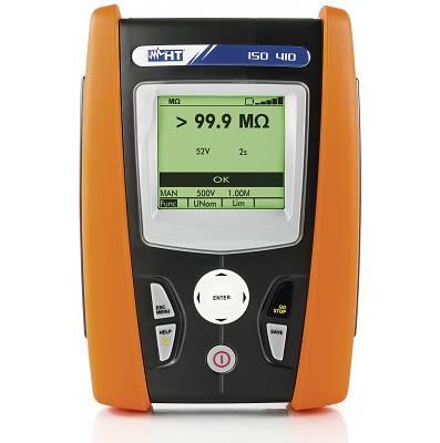 Foto de Instrumento multifunción para medida de aislamiento y continuidad de los conductores de protección
