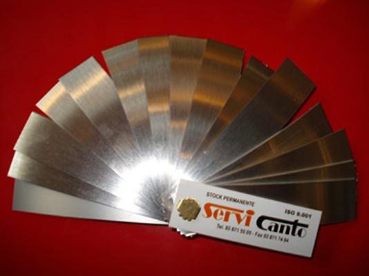 Foto de Cantos aluminio real