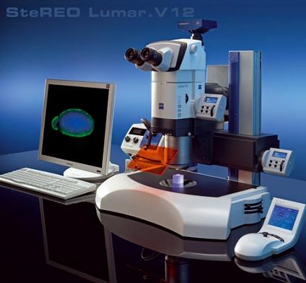 Foto de Microscópio stereo