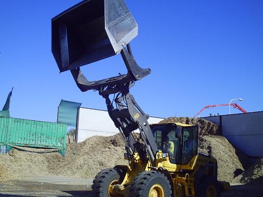 Foto de Cucharones de alto volteo para cargadoras