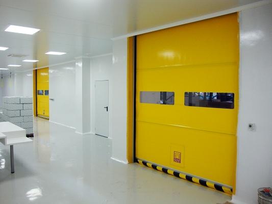 Foto de Puerta de apertura rápida enrollable