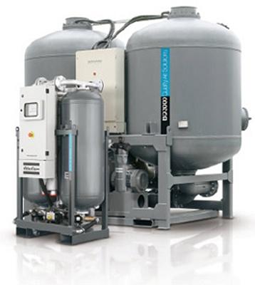 Foto de Secadores de adsorción con regeneración térmica