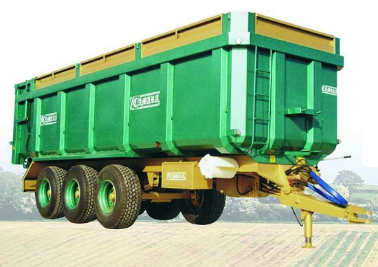 Foto de Bañera para transporte de cereal