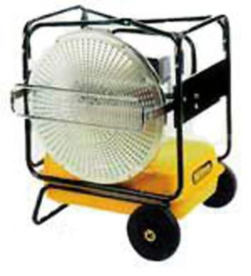 Foto de Calefactores de infrarrojos