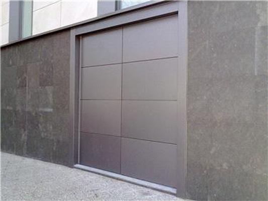 Fotografia de Porta pivotante acústica
