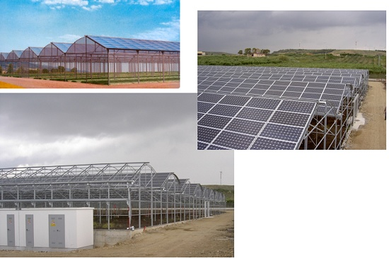 Foto de Invernaderos fotovoltaicos