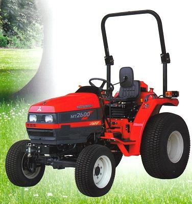 Foto de Tractores compactos de jardinería