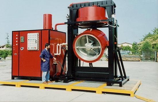 Foto de Destiladores de disolventes industriales
