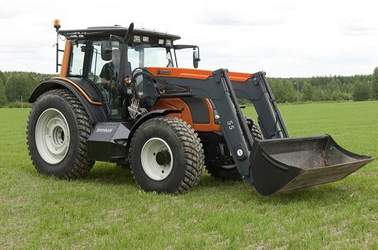 Foto de Tractor accionado con biogás