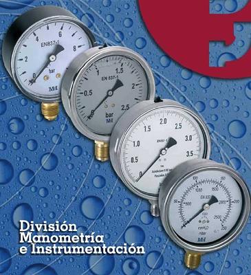 Fotografia de Manometrías i instrumentació