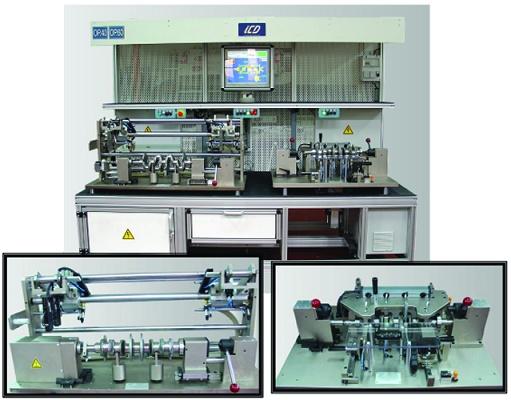 Foto de Banco de control dimensional de cigüeñales con central de medida