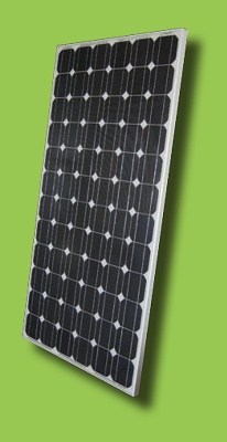 Foto de Módulos solares monocristalinos