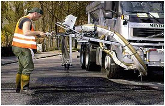 Foto de Proyectador de asfalto