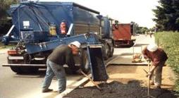 Foto de Contenedores de asfalto