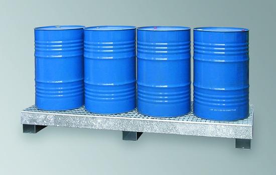 Foto de Cubetos de retención metálicos para barriles