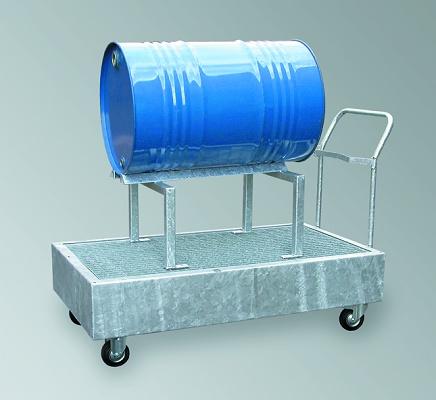 Foto de Cubetos de retención móviles para barriles