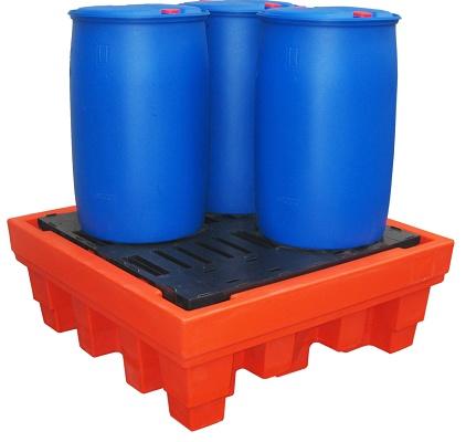 Foto de Cubetos de retención en PE-HD para barriles