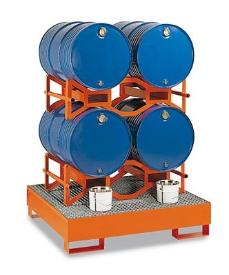Foto de Soportes para barriles sin montantes