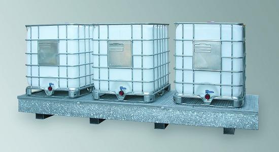 Foto de Cubetos de retención en acero para KTC/IBC